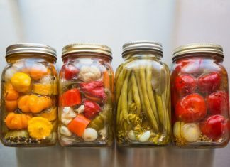 canning fruit and vegetables